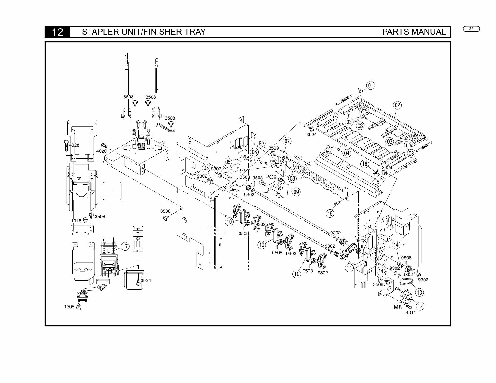Konica-Minolta Options FN-504 Parts Manual-3